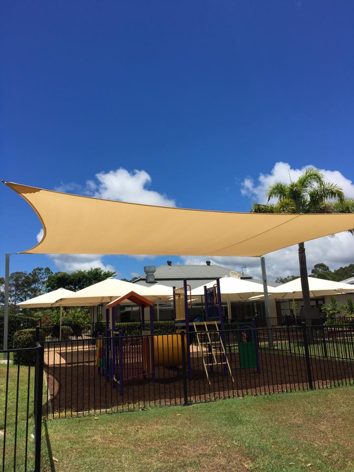 Golden Beach shade sails