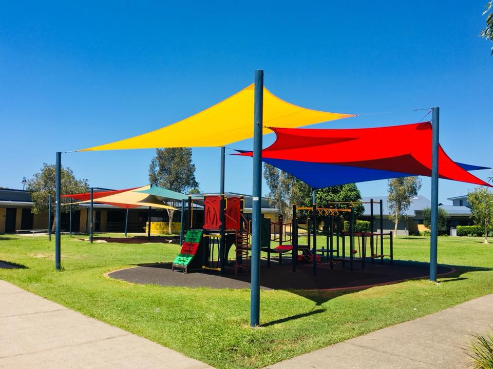 Pelican Waters shade sails