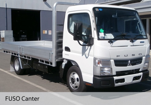 Fuso Tray Back Covers