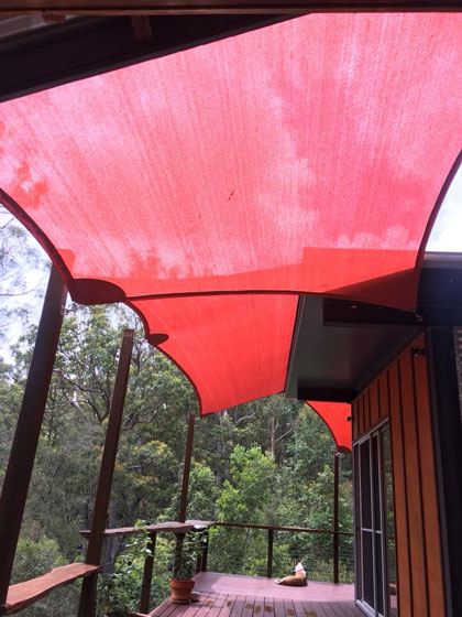 Weyba Downs shade sails