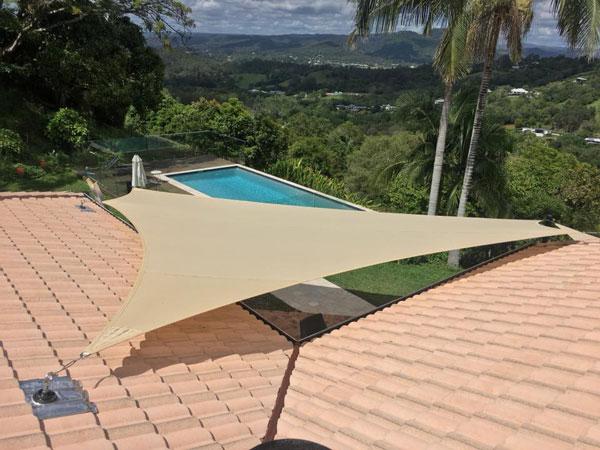Bald Knob shade sails