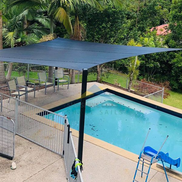 Rainbow Shade z16 Installation on the Sunshine Coast
