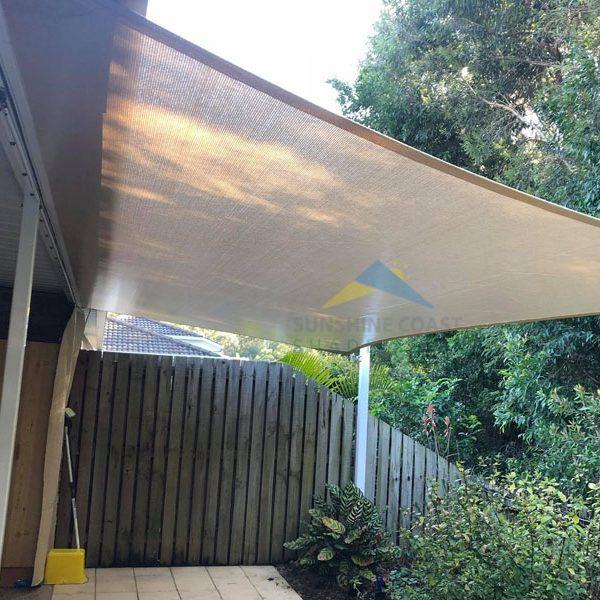 Walkway Shade Sail
