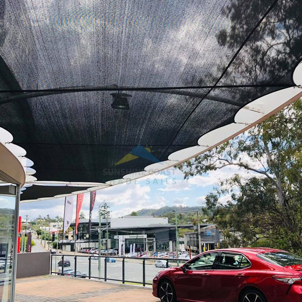 Car Dealership Shade Sail