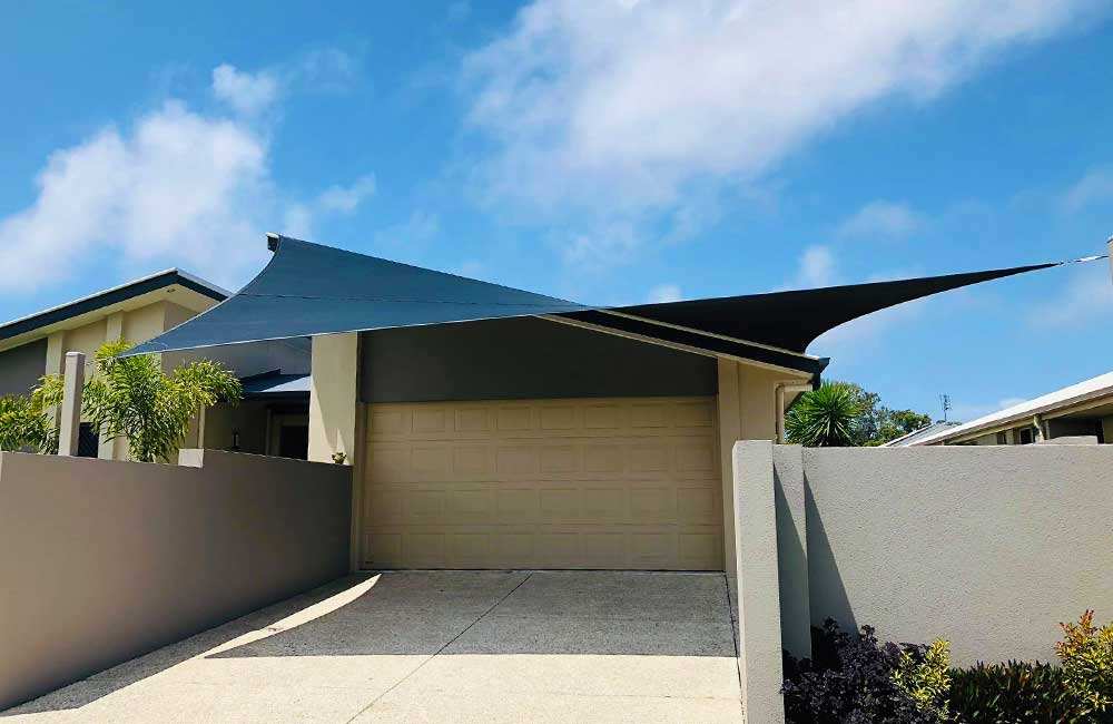Twist Carport Shade Sail