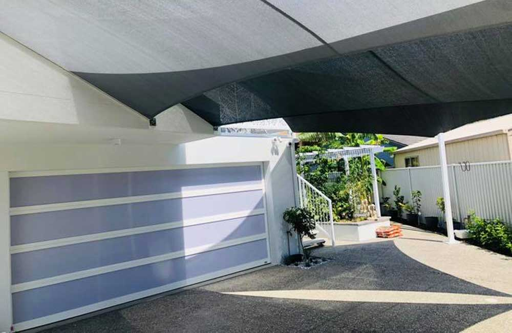 Driveway Shade Sails in Golden Beach