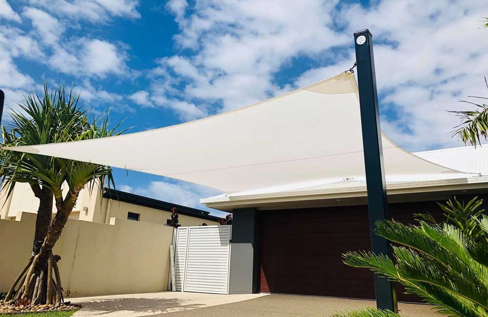 Carport Shade Sail in Pelican Waters