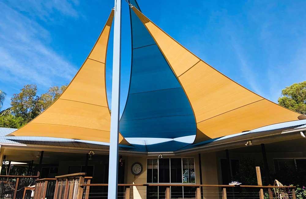 Rainbow Shade z16 Shade Sails