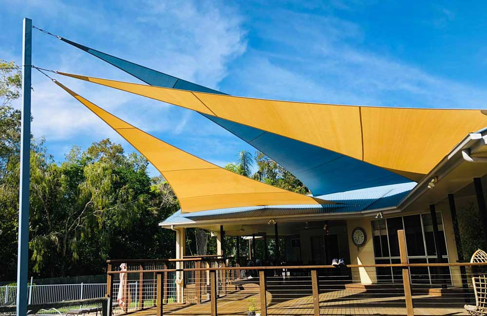 Multiple Shade Sails