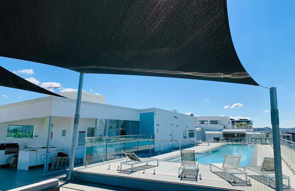 Rooftop Shade Sails