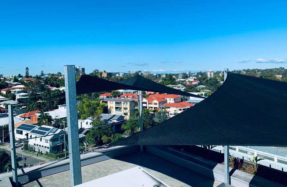 Brisbane Rooftop Shade Sails