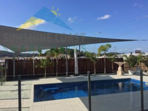 Residential Pool Shade Sail